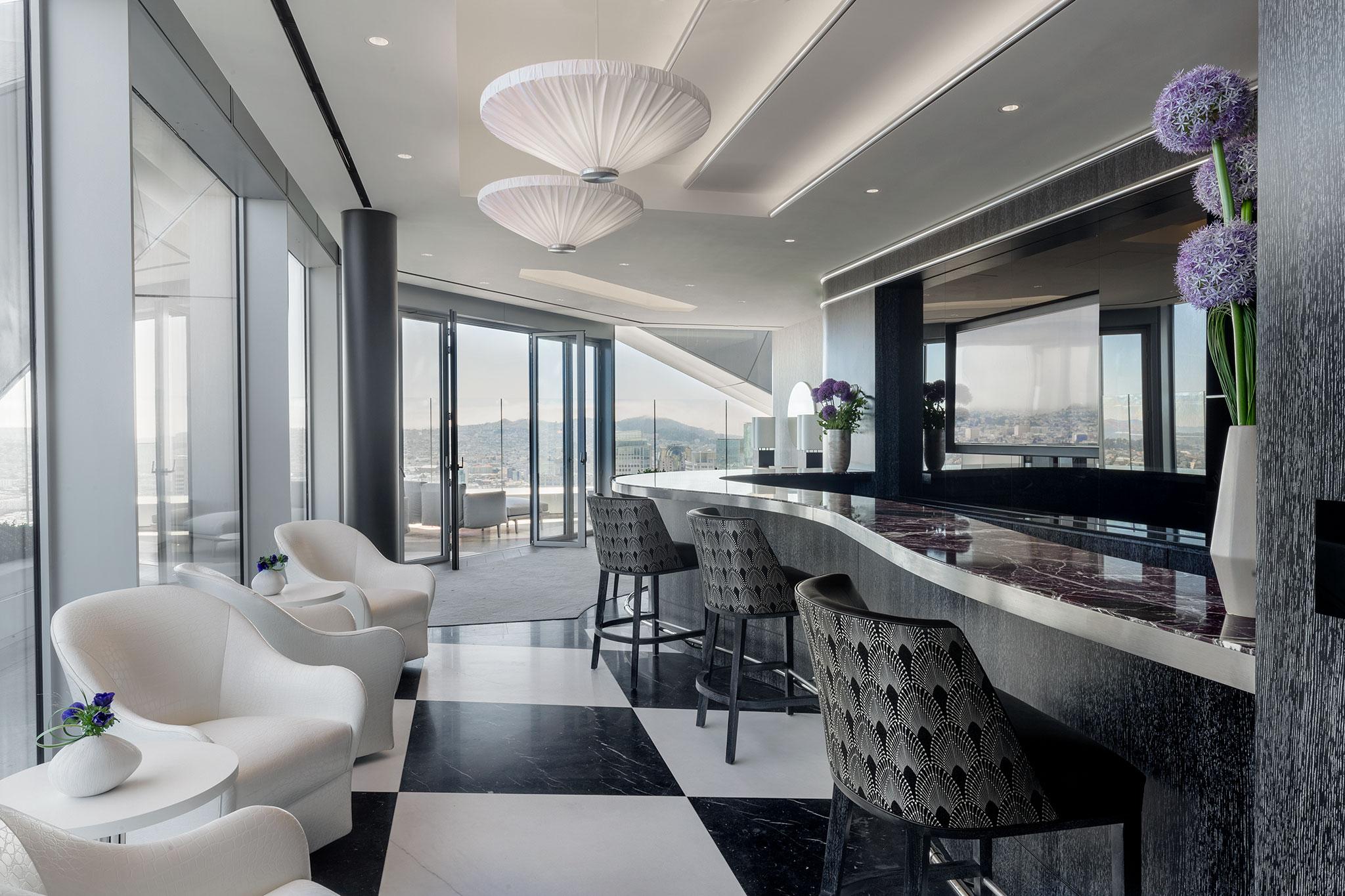 San Francisco Luxury Condos Sky Lounge