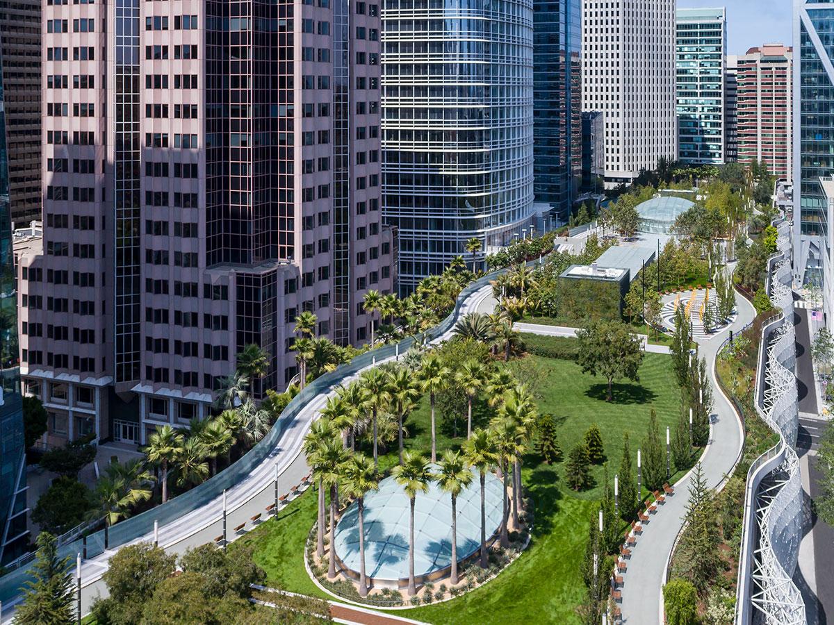 SalesForce Park Aerial Image